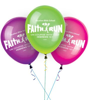 VBS The Faith Run Balloons