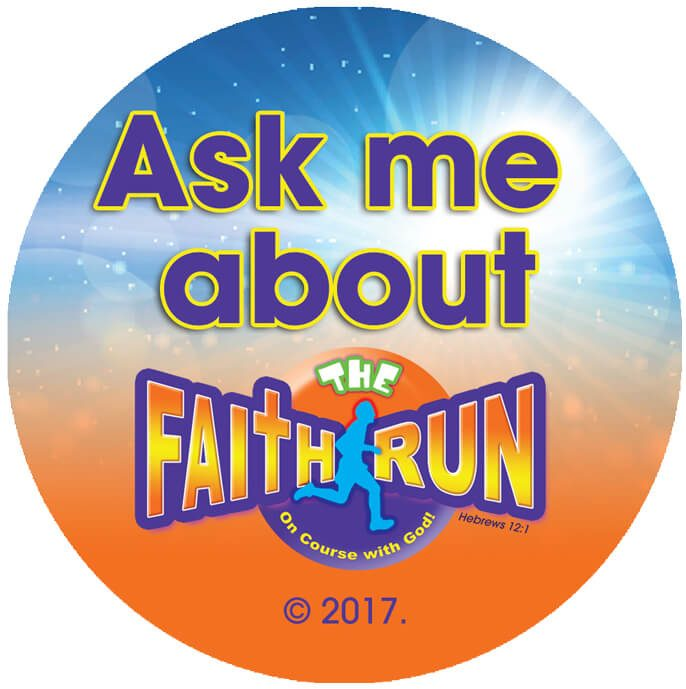 VBS The Faith Run Buttons