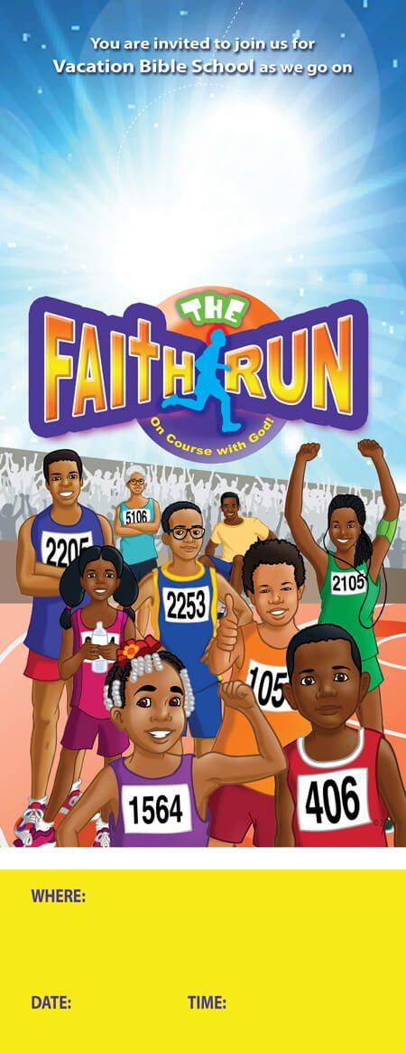 VBS The Faith Run Door Hangers