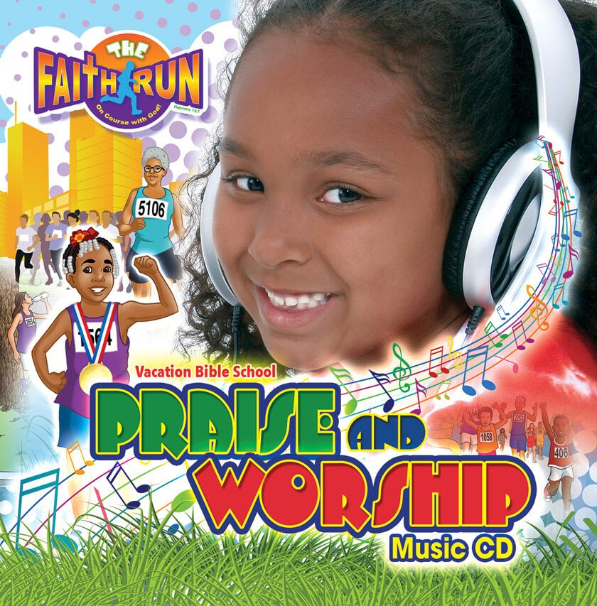 VBS The Faith Run Music CD 2017