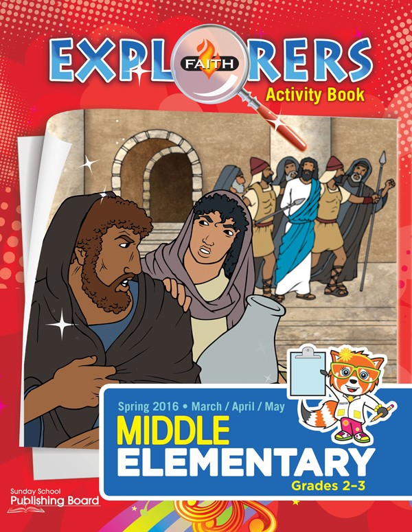 Faith Explorers Middle Elementary Activity Book (Spring 2016)–Digital Edition