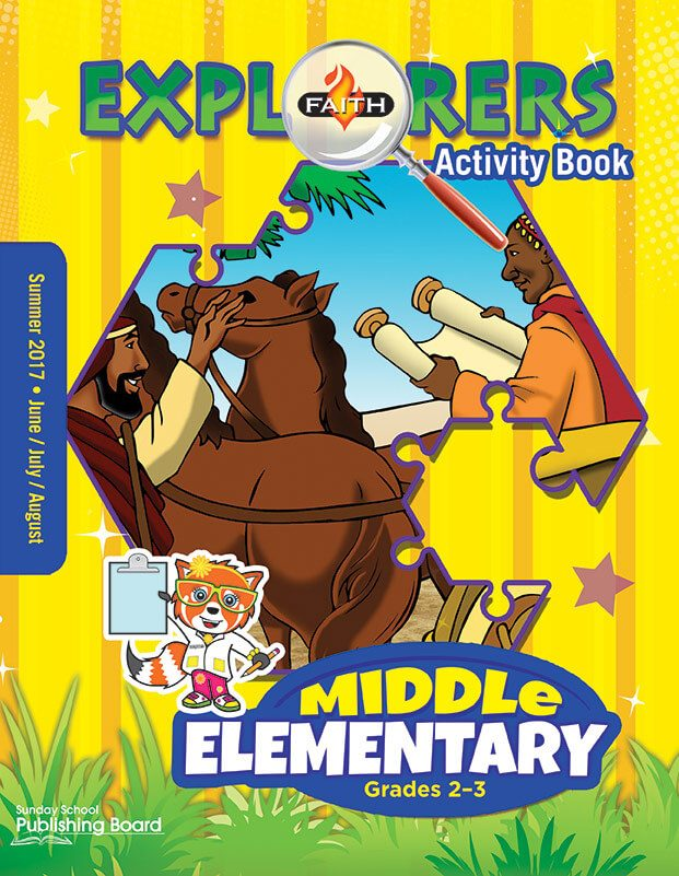 Faith Explorers Middle Elementary Activity Book (Summer 2017)–Digital Edition