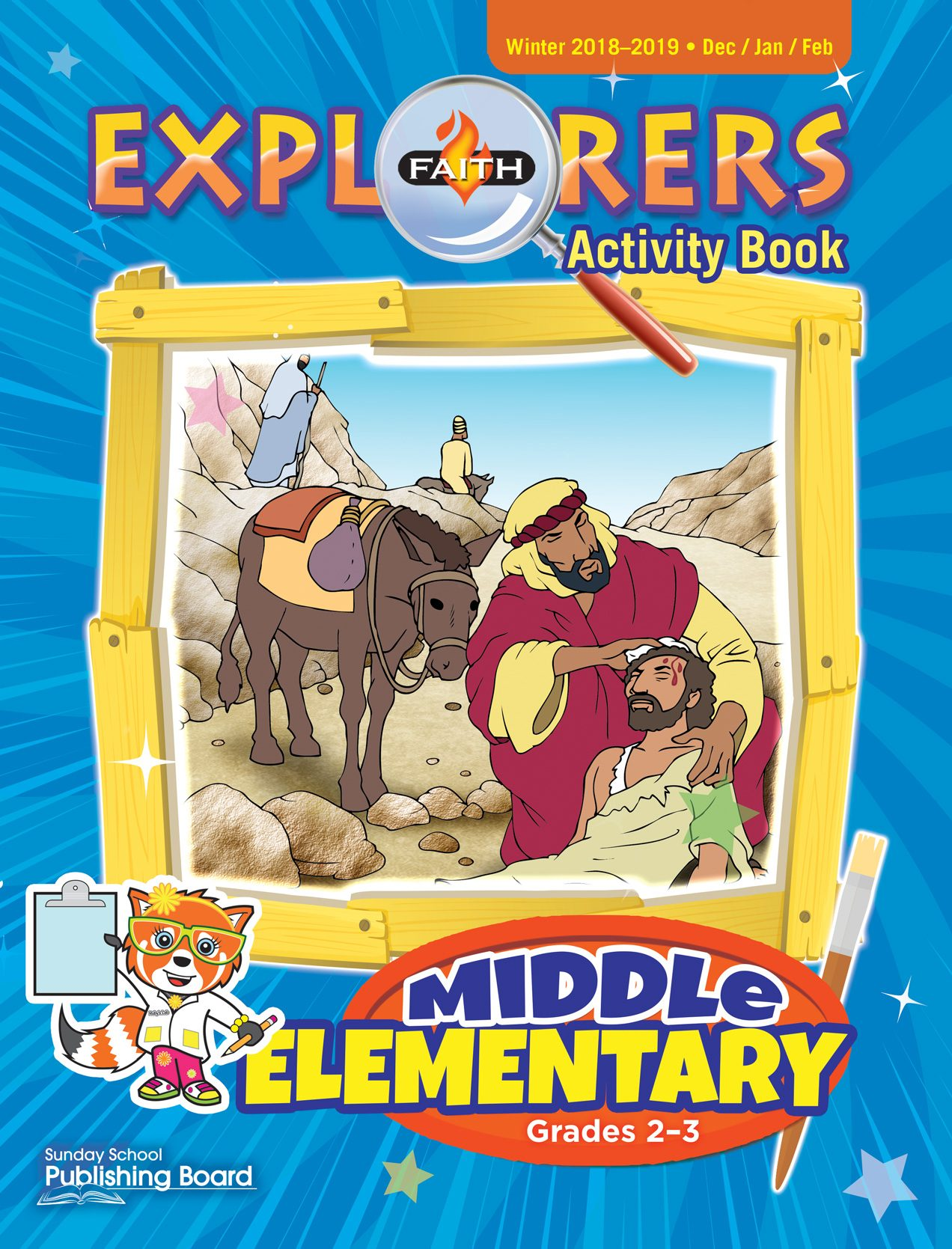 Faith Explorers Activity Book, Middle Elementary for Grades 2-3 (Winter 2018)-Digital Edition