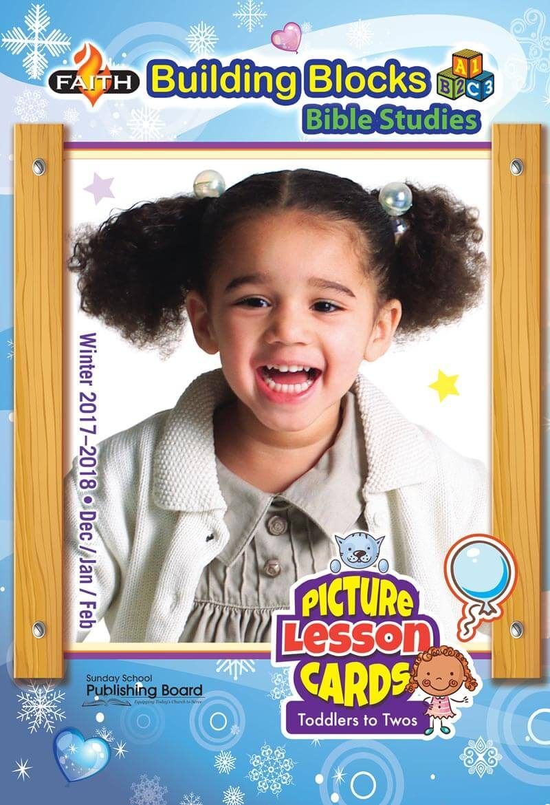 Faith Building Blocks Lesson Cards for Toddlers to Twos (Winter 2017)–Digital Edition