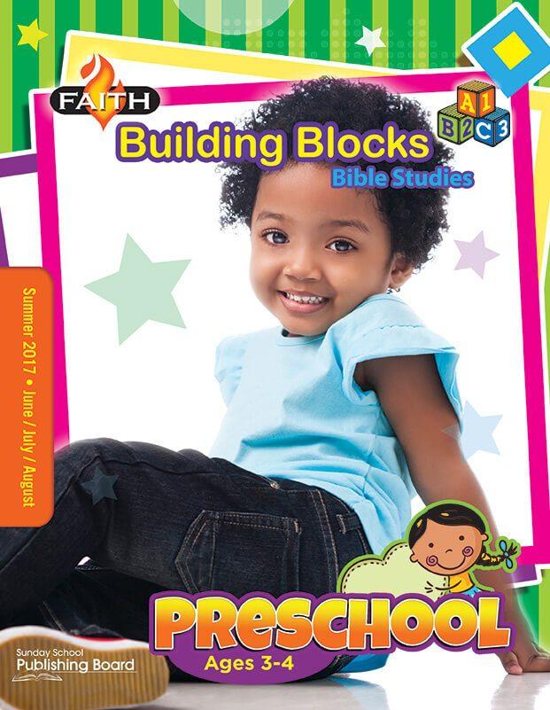 Faith Building Blocks Bible Studies for Preschool (Summer 2017)–Digital Edition