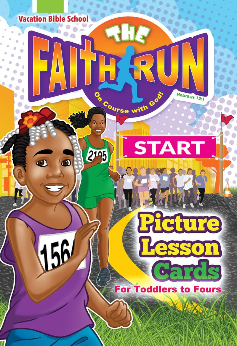 VBS The Faith Run Picture Lesson Cards 2017