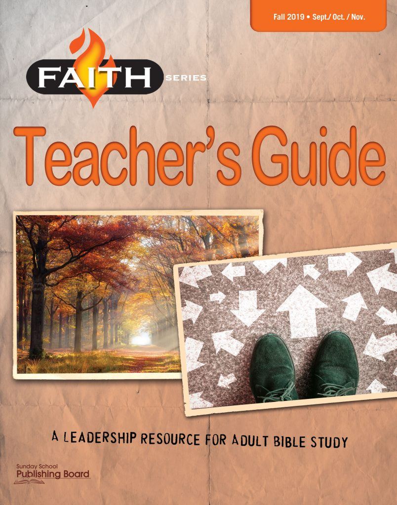 Faith Series Adult Teacher's Guide—Leadership Resource for Adult Bible Study