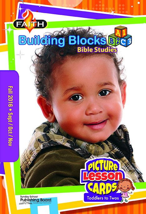 Faith Building Blocks Picture Lesson cards (Toddlers to Twos)