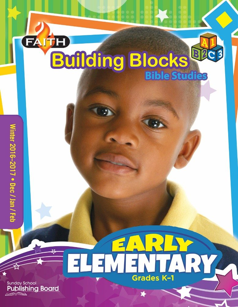 Faith Building Blocks Bible Studies for Early Elementary Students (Winter 2016)–Digital Edition