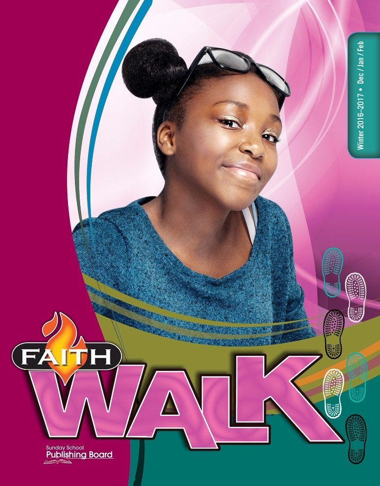 Faith Walk Bible Studies for Middle School Students (Winter 2016)–Digital Edition