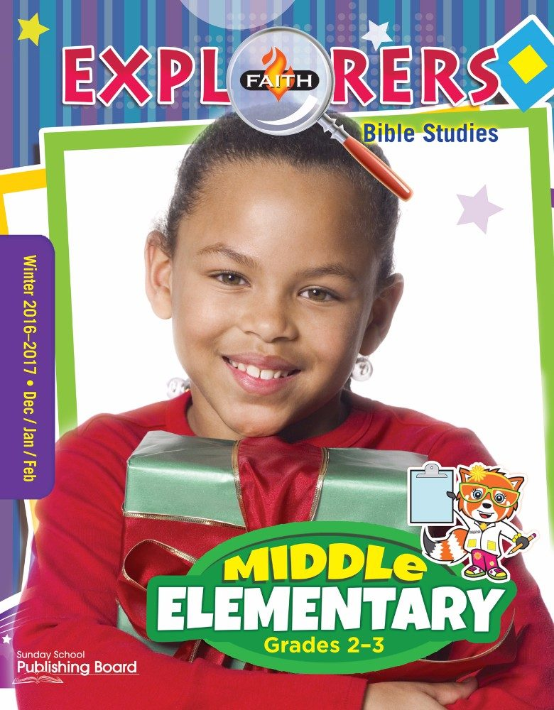 Faith Explorers Bible Studies for Middle Elementary Students (Winter 2016)–Digital Edition
