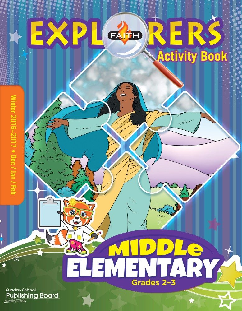 Faith Explorers Middle Elementary Activity Book (Winter 2016)–Digital Edition