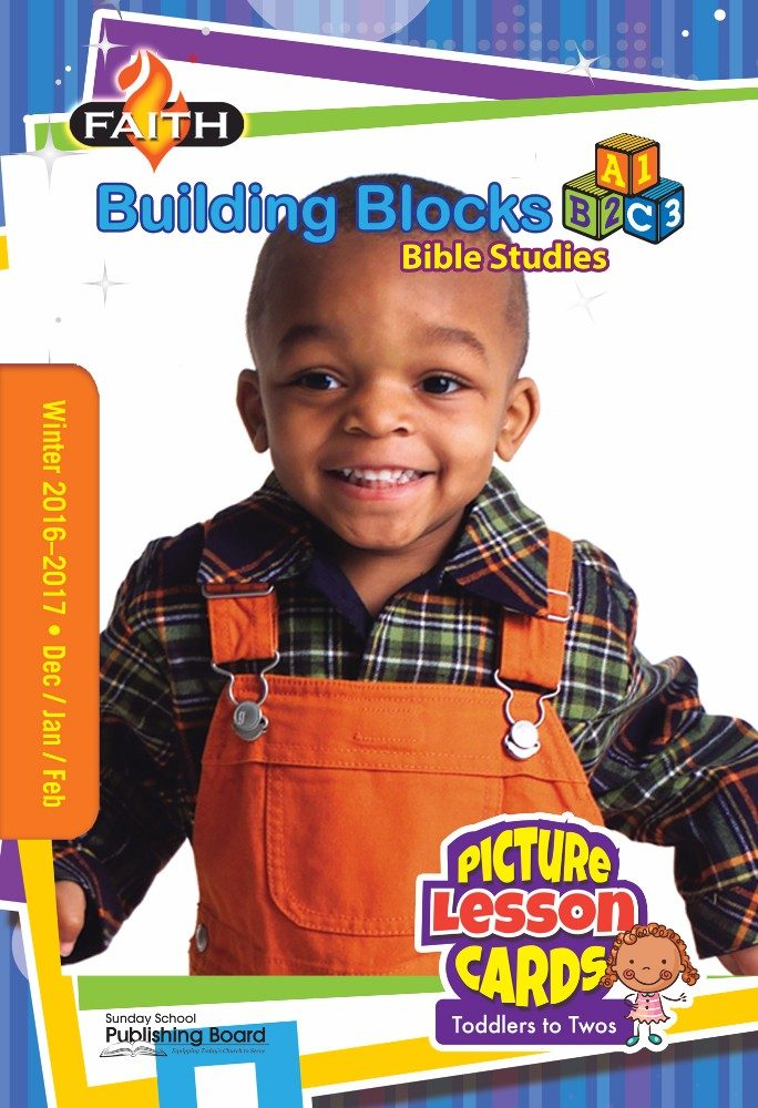 Faith Building Blocks Lesson Cards for Toddlers to Twos (Winter 2016)–Digital Edition