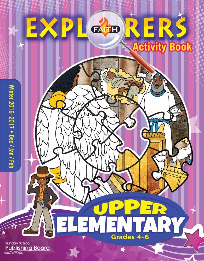 Faith Explorers Upper Elementary Activity Book (Winter 2016)–Digital Edition