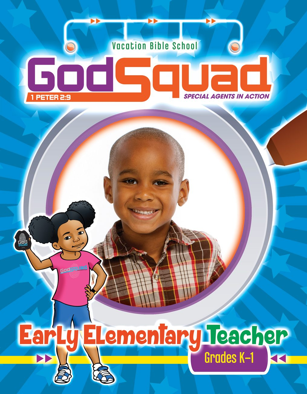 VBS GodSquad Early Elementary Teacher 2018