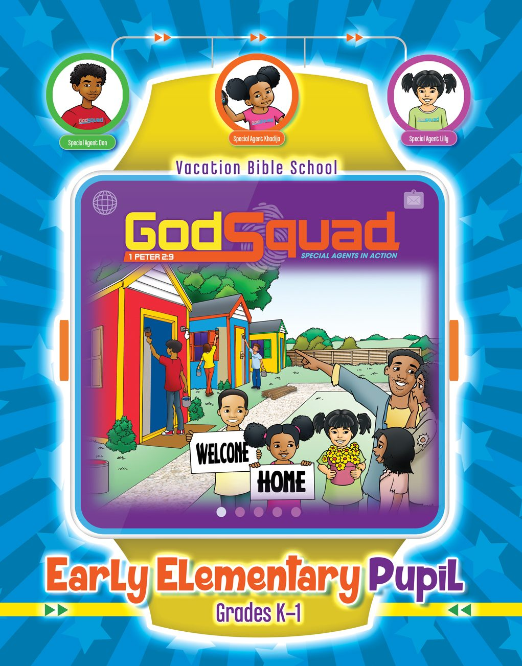 VBS GodSquad Early Elementary Pupil 2018