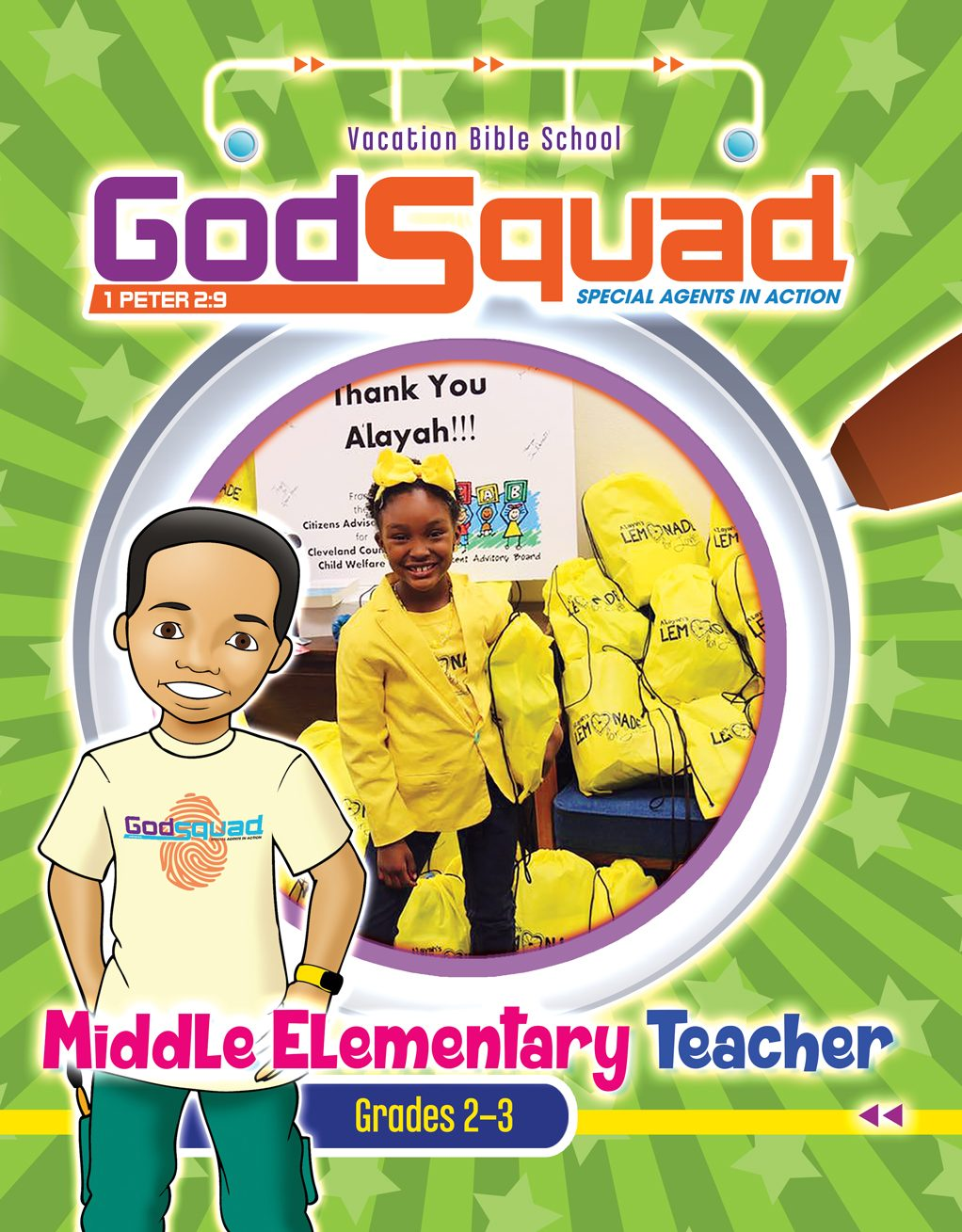 VBS GodSquad Middle Elementary Teacher 2018