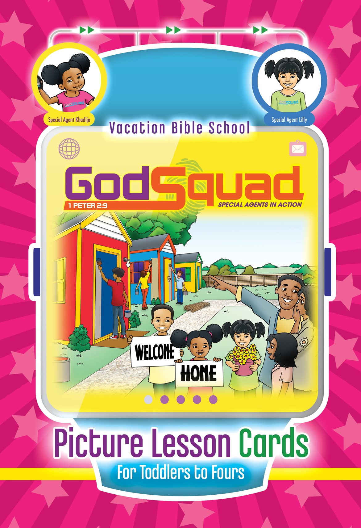 VBS GodSquad Picture Lesson Cards 2018