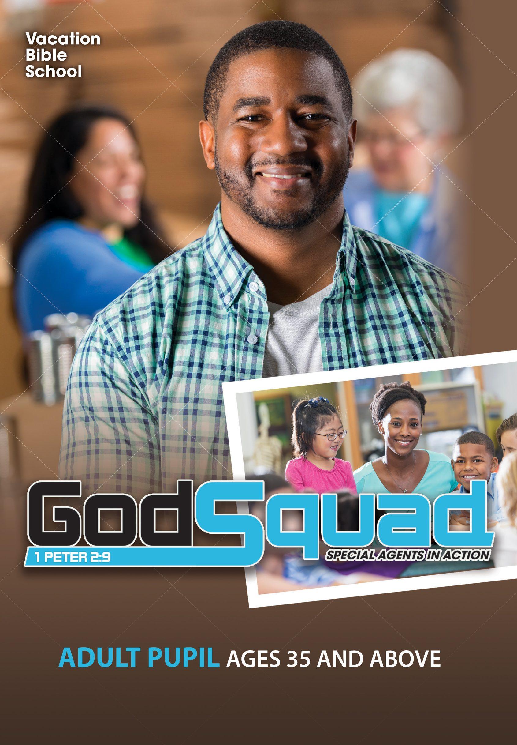 VBS GodSquad Adult Pupil 2018
