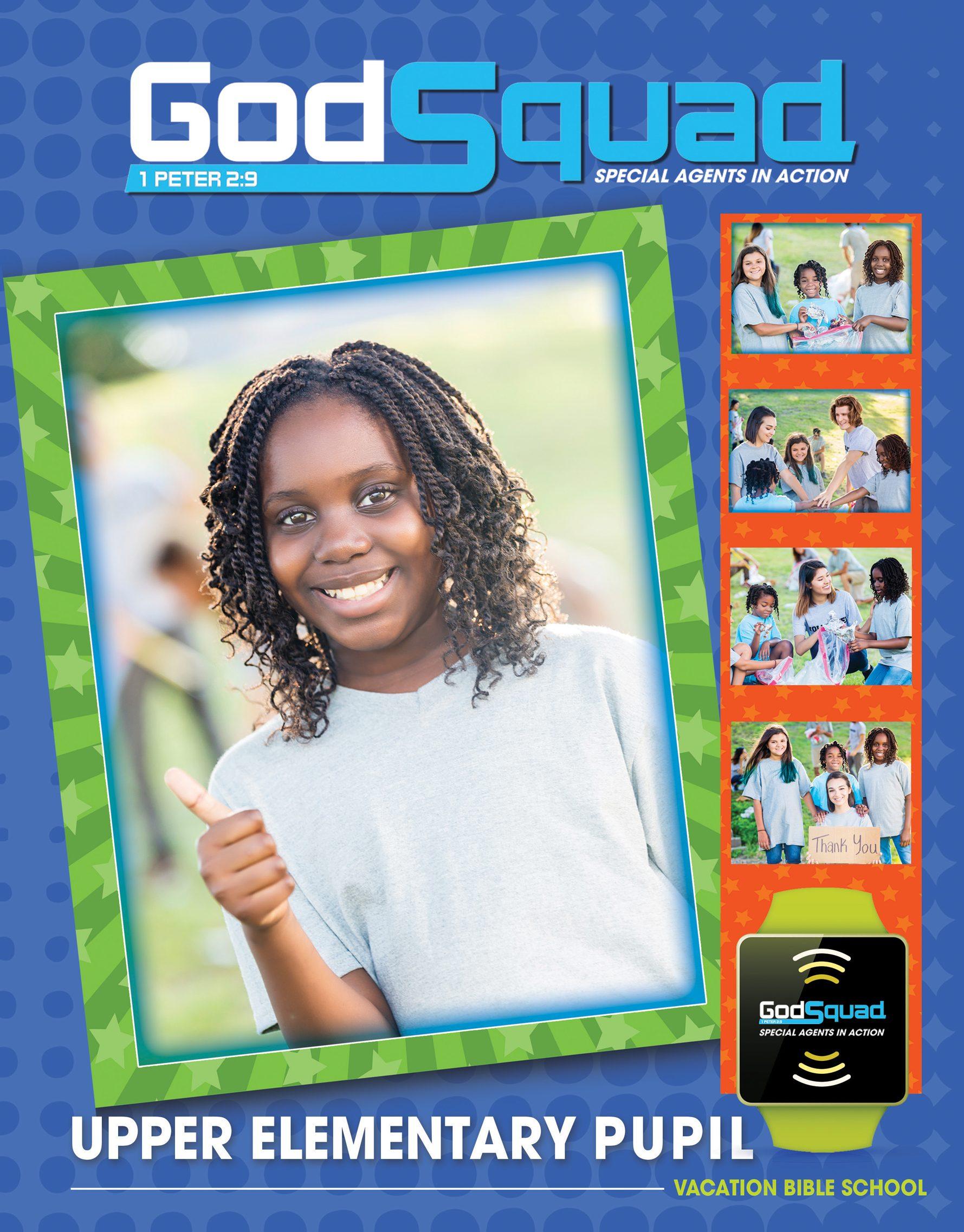 VBS GodSquad Upper Elementary Pupil 2018