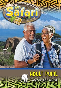 VBS On Safari Adult Pupil 2019