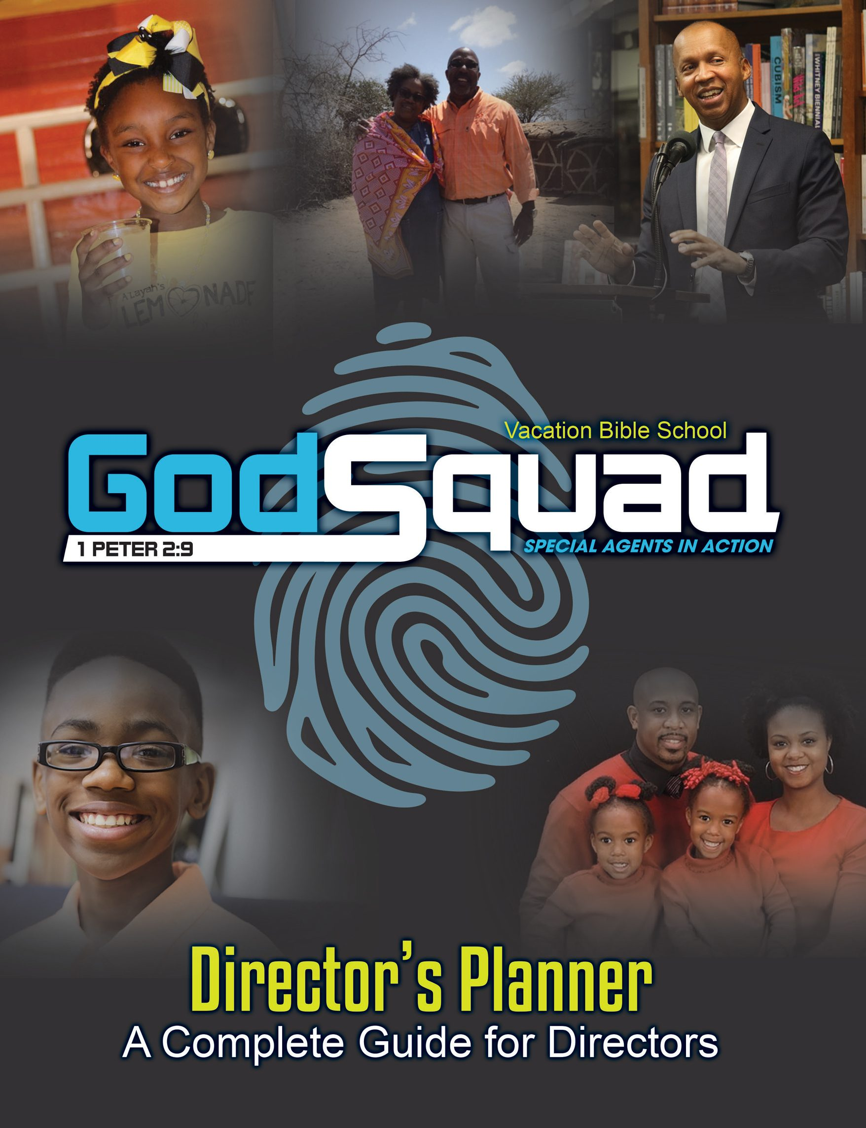 VBS GodSquad Director's Planner 2018
