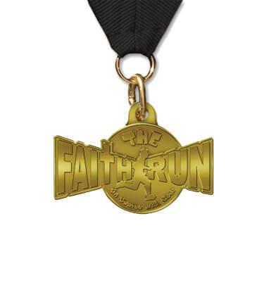VBS Faith Run Award Medal