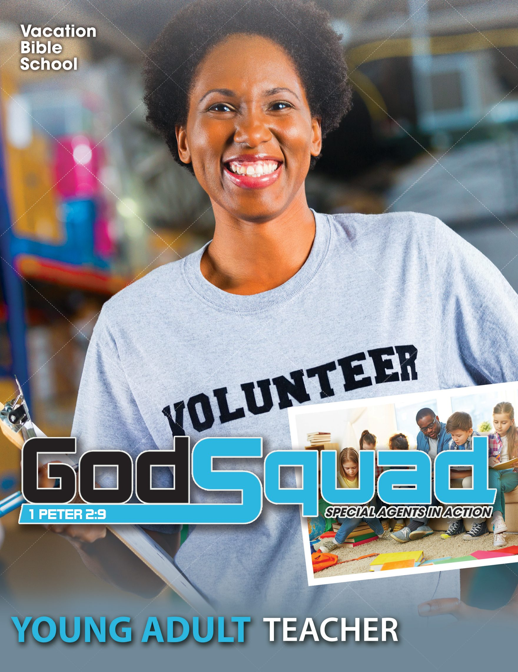 VBS  GodSquad Young Adult Teacher 2018