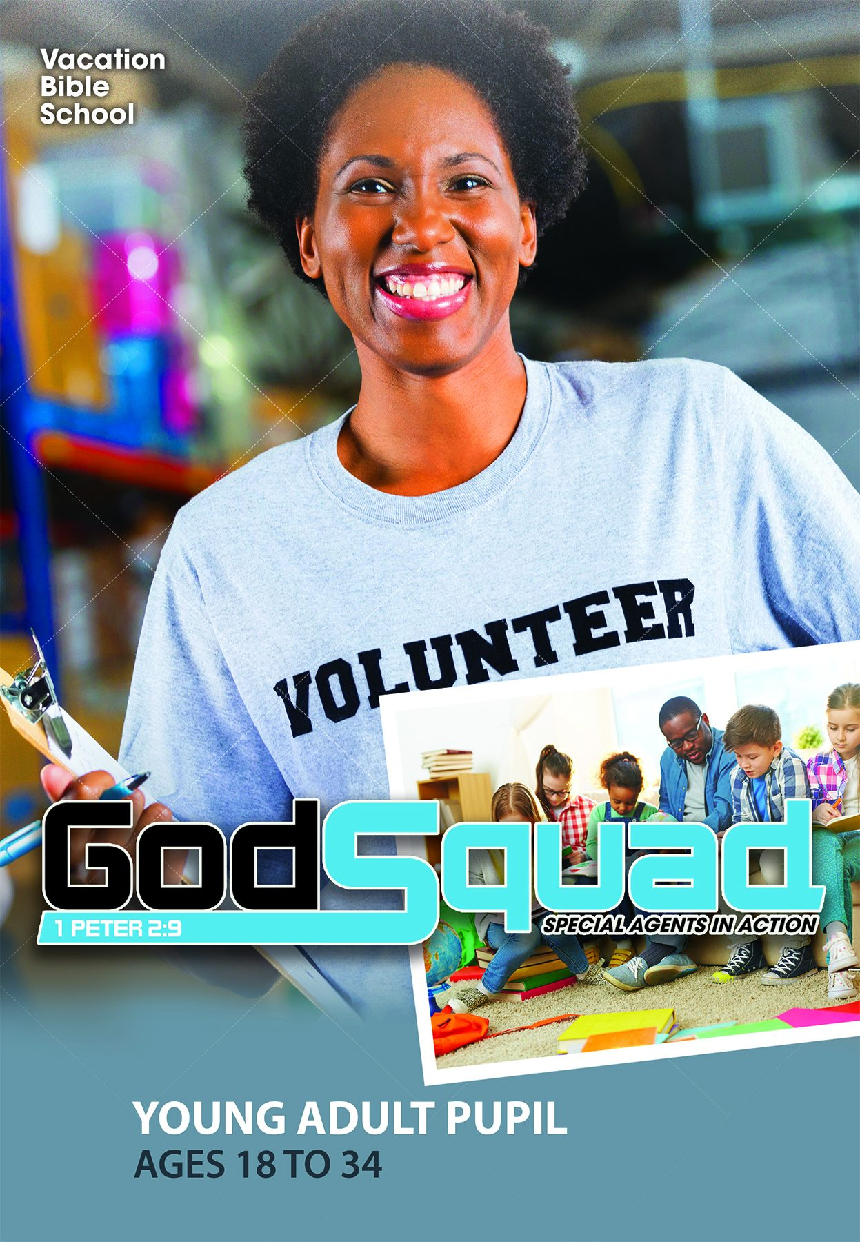 VBS GodSquad Young Adult Pupil 2018