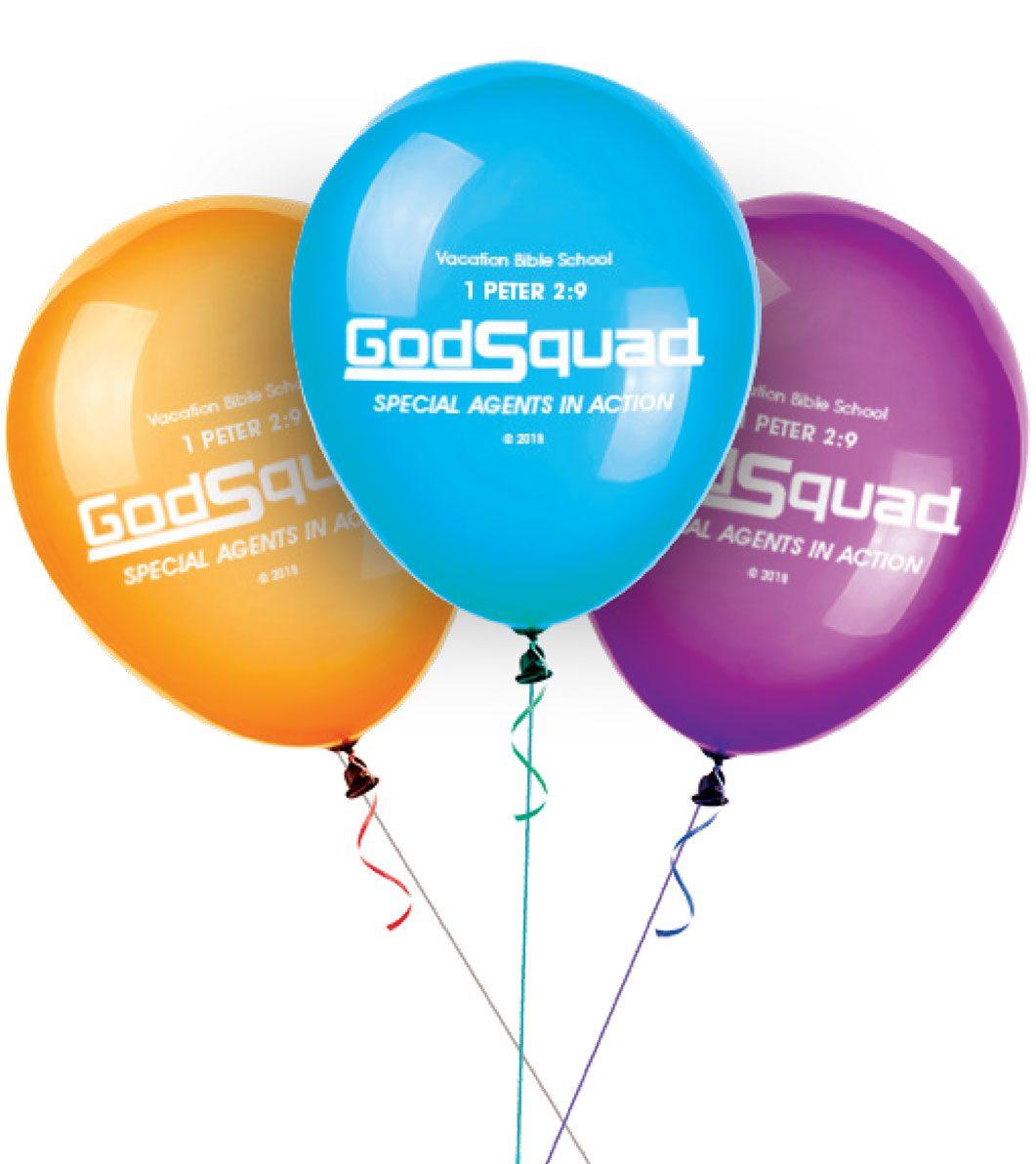 VBS GodSquad Balloons