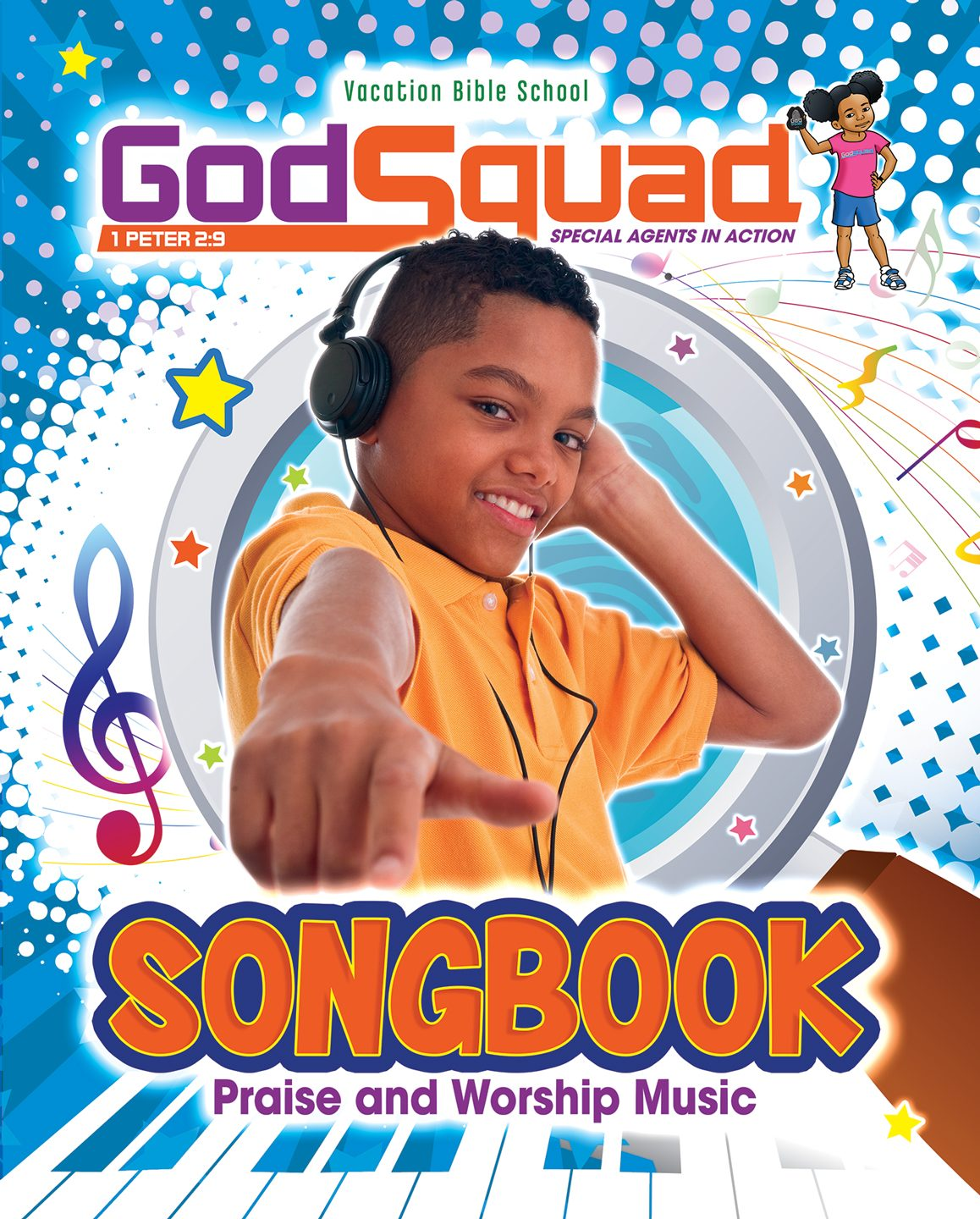 GodSquad VBS Music Songbook 2018