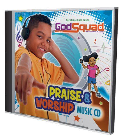 VBS GodSquad Music CD 2018