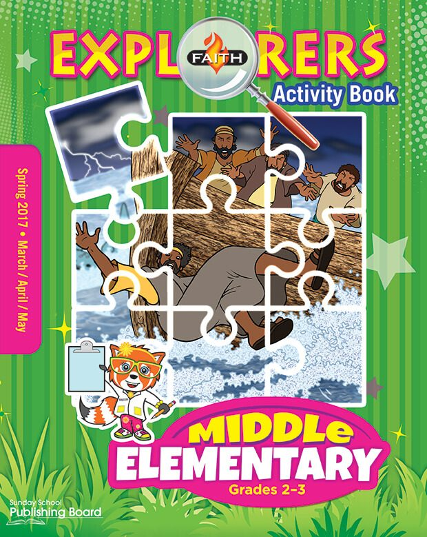 Faith Explorers Middle Elementary Activity Book (Spring 2017)–Digital Edition