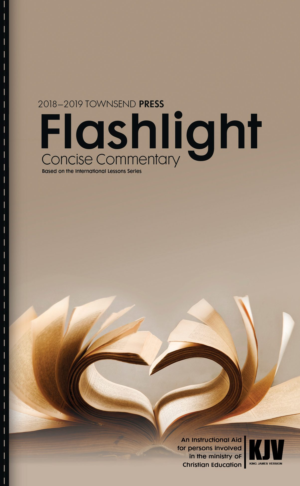 2018-2019 Townsend Press Sunday School Flashlight Concise Commentary