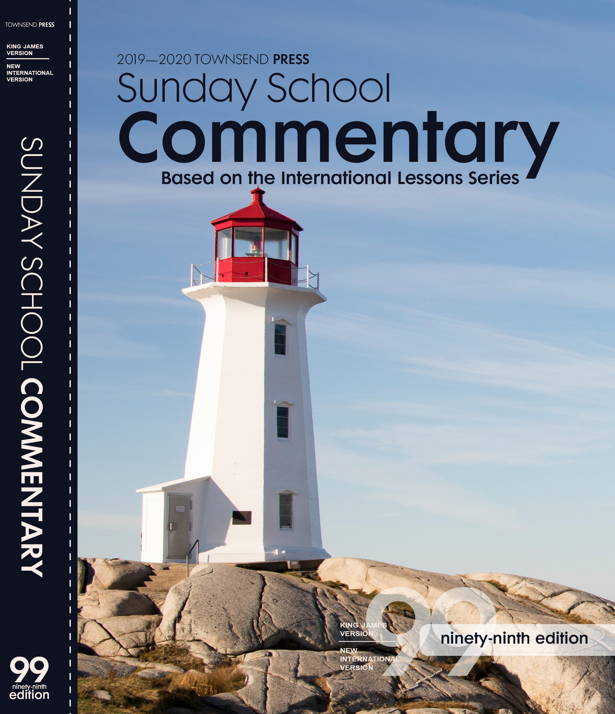 2019-2020 Townsend Press Sunday School Commentary 99th Edition