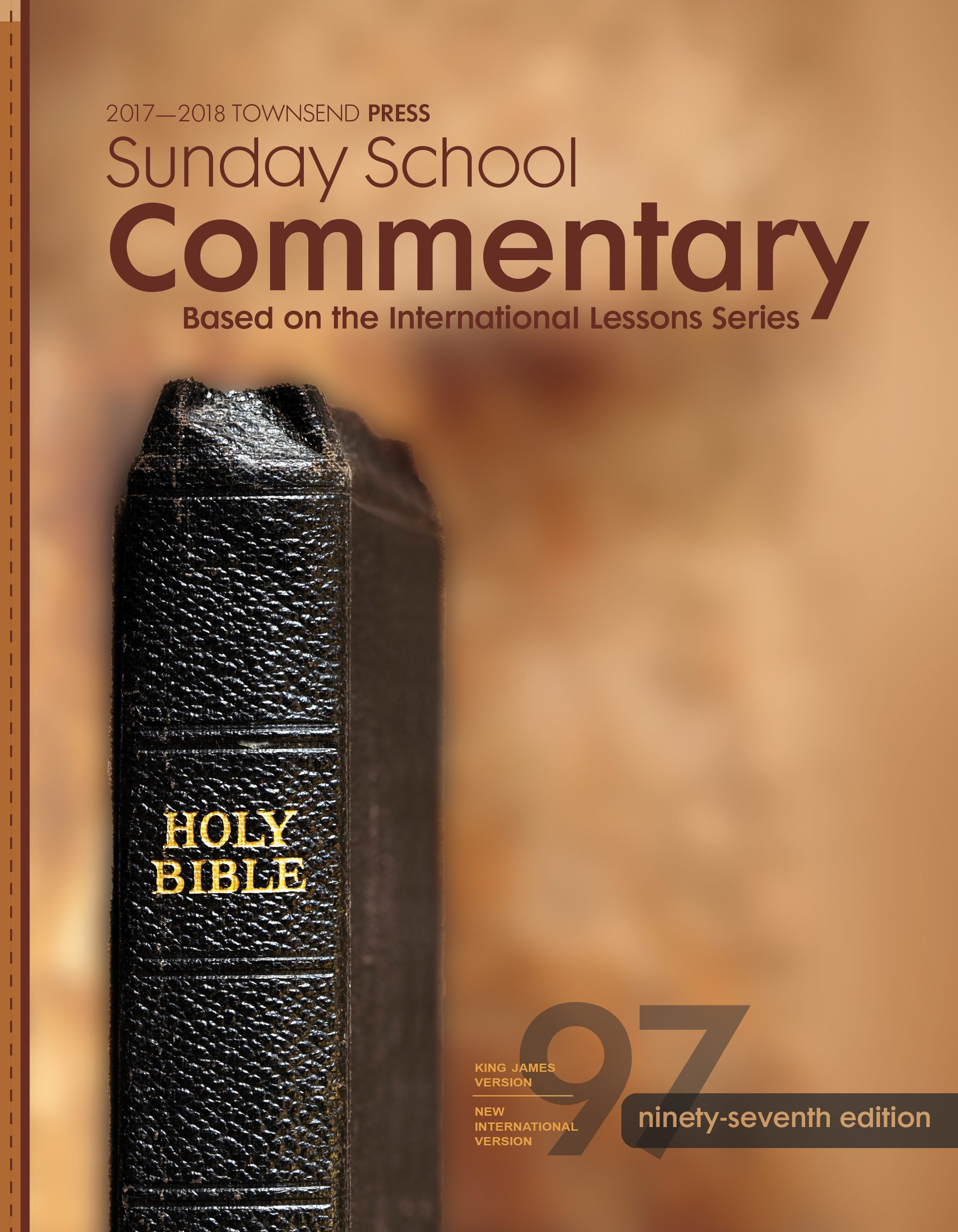 2017-2018 Townsend Press Sunday School Commentary 97th Edition