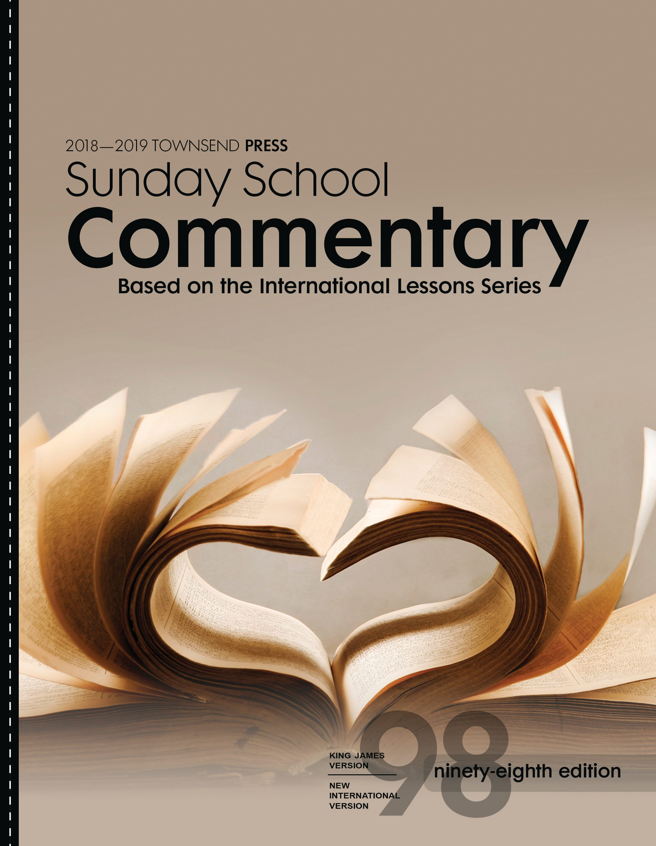 2018-2019 Townsend Press Sunday School Commentary 98th Edition