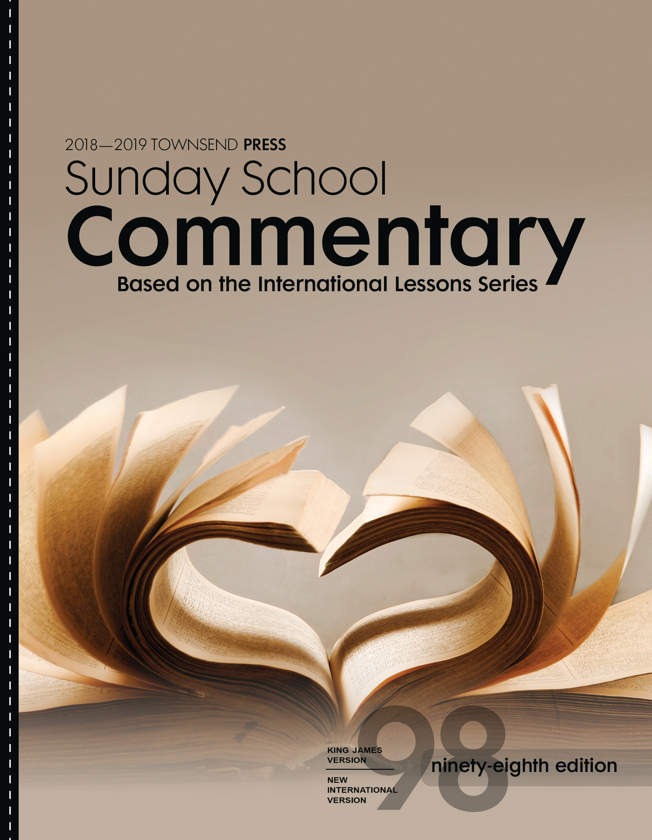 2018-2019 Townsend Press Sunday School Commentary 98th Edition Copy