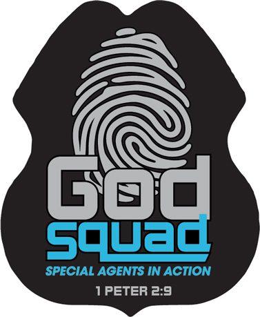 VBS GodSquad Badges