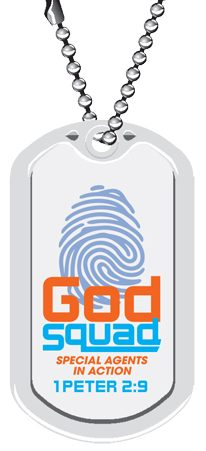 VBS GodSquad Dog Tags